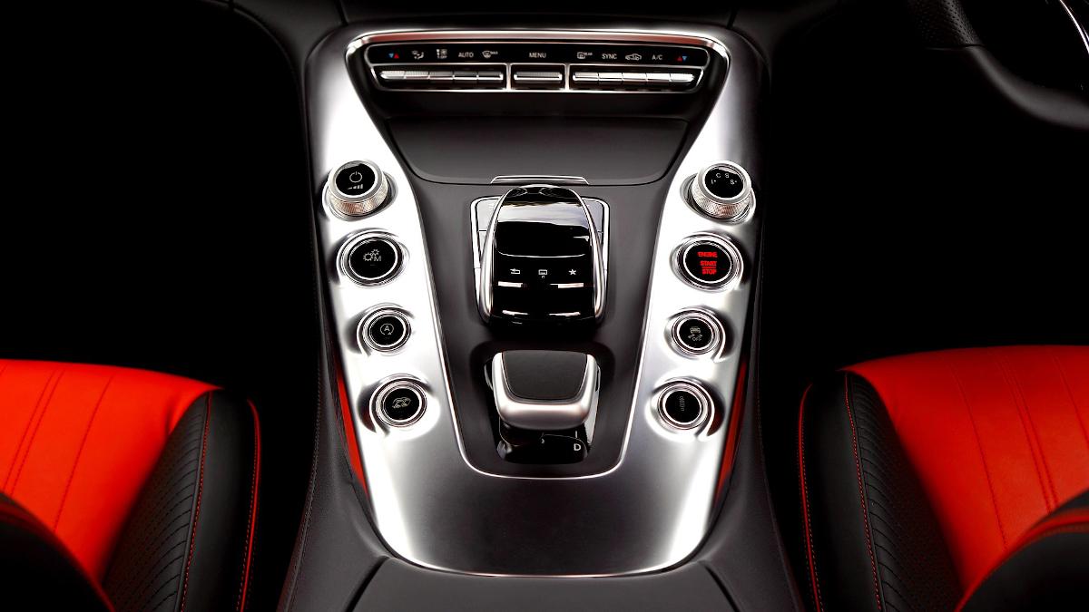 Abgasskandal Mercedes-Fahrzeug Innenraum