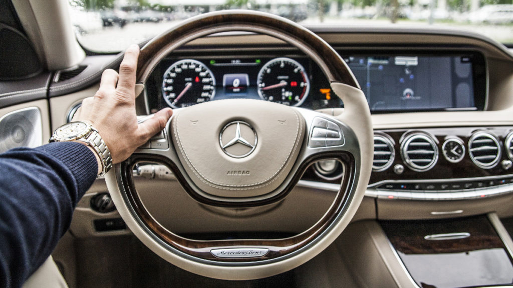 Abgasskandal Mercedes Fahrzeugdetail
