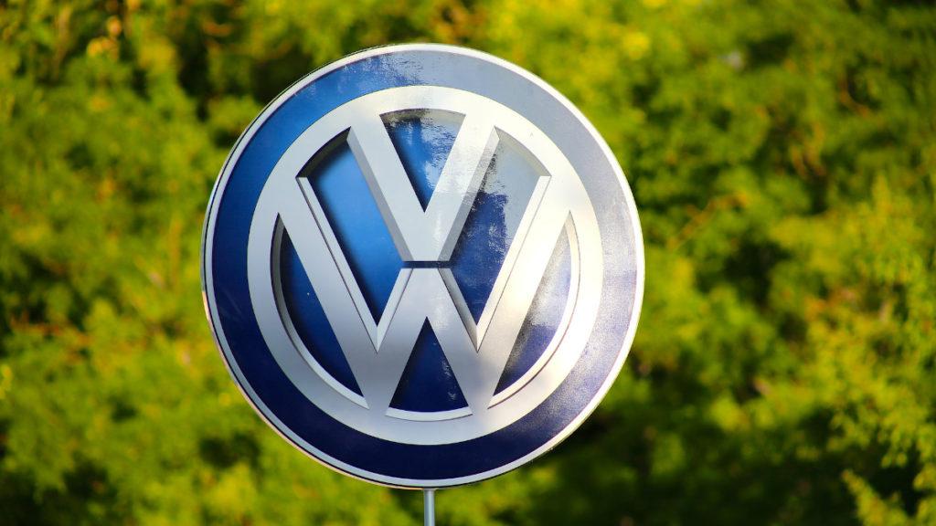 Volkswagen Logo Blau