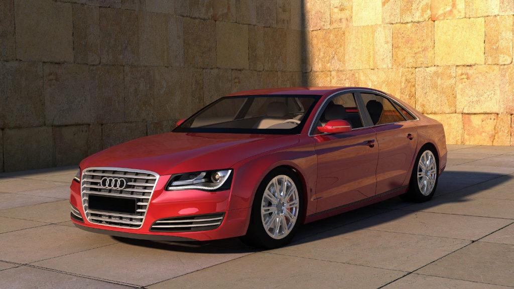 Abgasskandal Audi Diesel-Fahrzeug