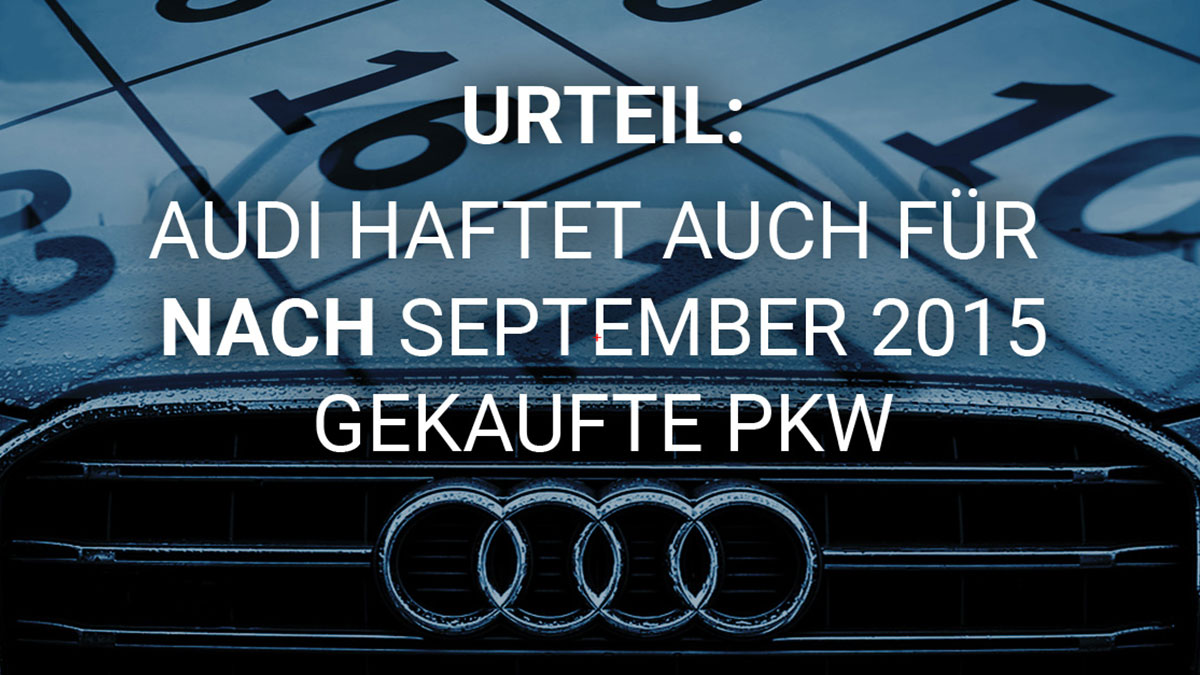 Audi Spaetkauf PKW
